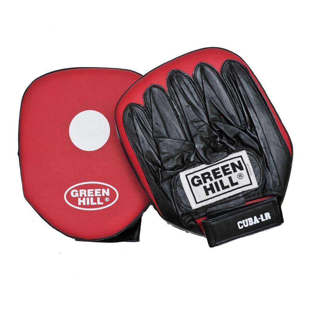 Лапы боксерские CUBA (малая) х 2 шт для прямых ударов верх кожа остальное кожзаменитель