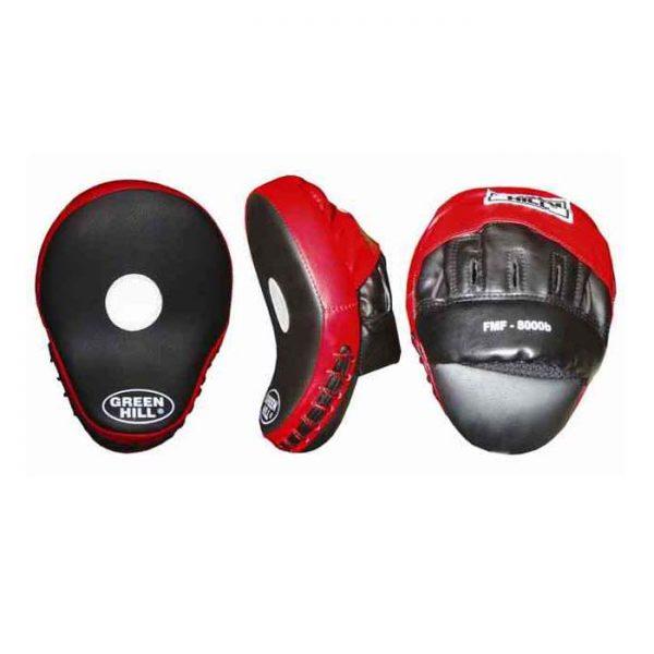Лапа боксерская изогнутые для наработки точности и скорости удара кожзаменитель анатомическая форма