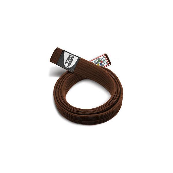 Пояс Дзюдо одобренный IJF черный коричневый Green Hill