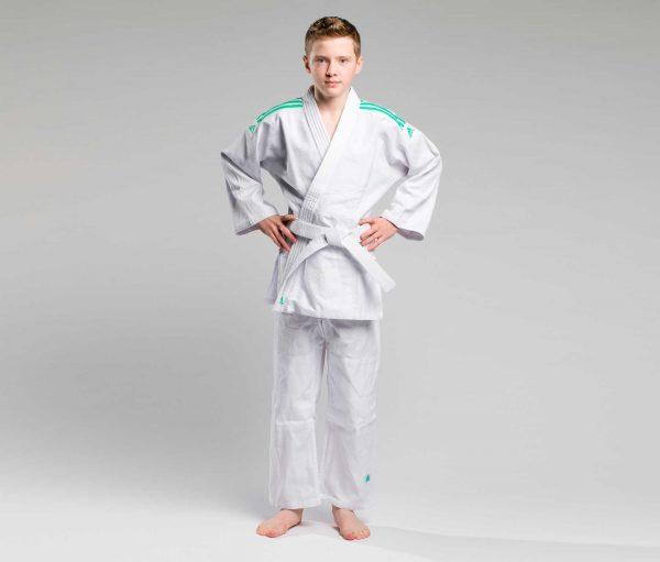 Адидас кимоно для дзюдо детское