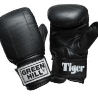 PMT-2060 Перчатки снарядные TIGER классические из натуральной кожи Green Hill