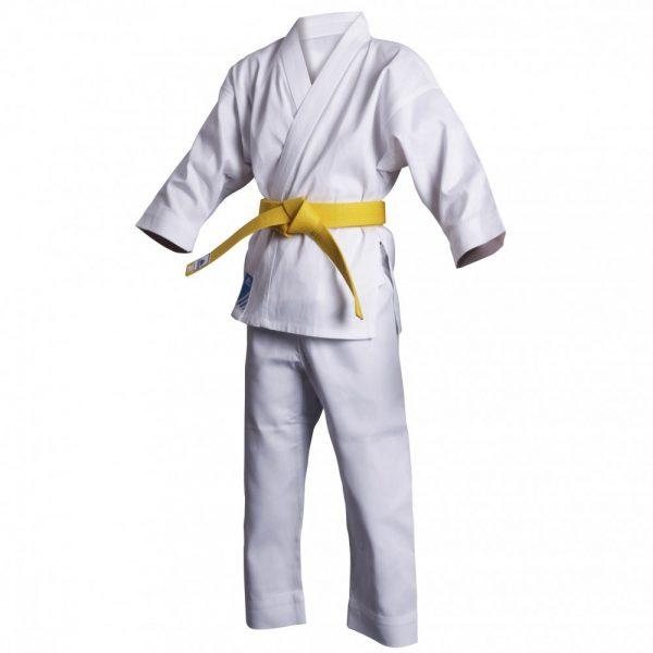 Кимоно для карате Club с лого WKF белое