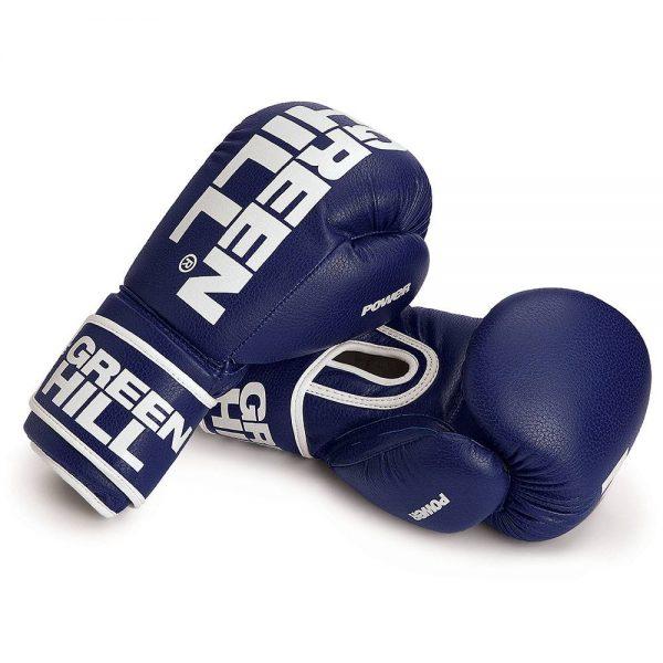 Перчатки для тайского бокса POWER Green Hill