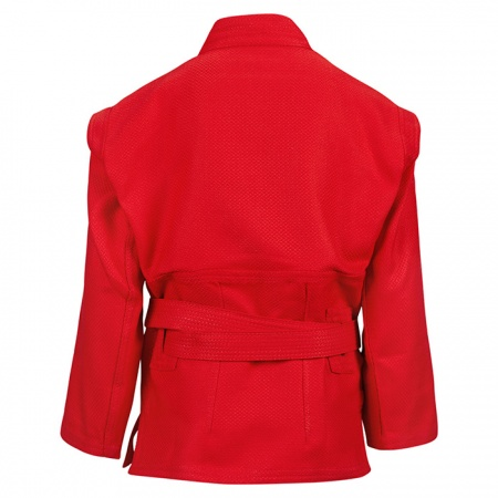 SCJ-2201 Куртка самбо JUNIOR Green Hill красная/синяя