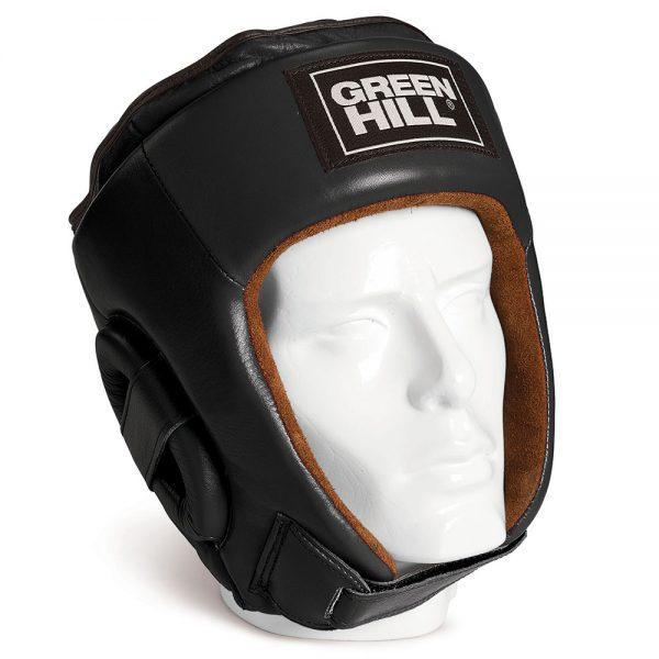 боксерский шлем бест черный