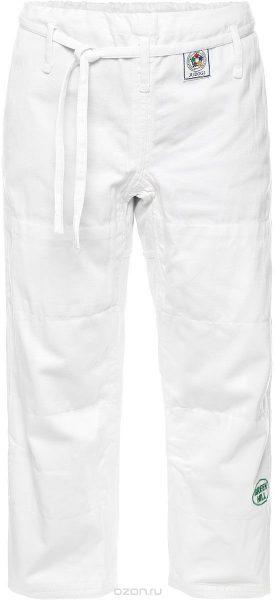 брюки для дзюдо белые