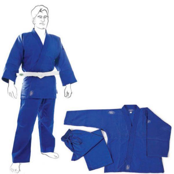 кимоно грин хилл клуб синее дзюдо