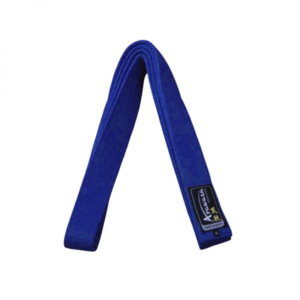 Пояс каратэ для кумите Arawaza синий хлопок одобрено WKF