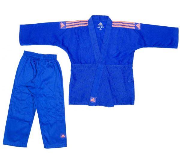 форма дзюдо адидас синяя для детей