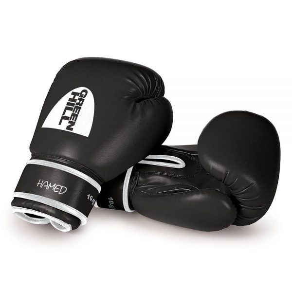перчатки боксерские HAMED грин хилл