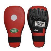 """Лапа боксерская """"JET"""" х 2 шт для отработки прямых ударов кожа"""