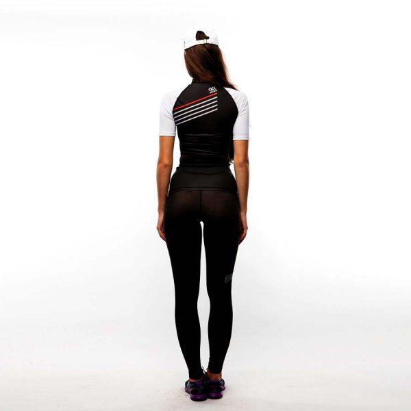 Рашгард футболка женская Микс, Polyester 85%, Elastan 15%