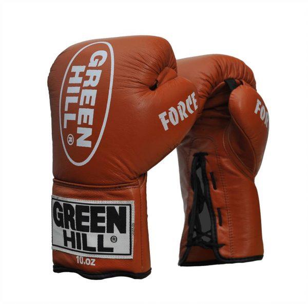 профессиональные боксерские перчатки FORCE Грин Хилл