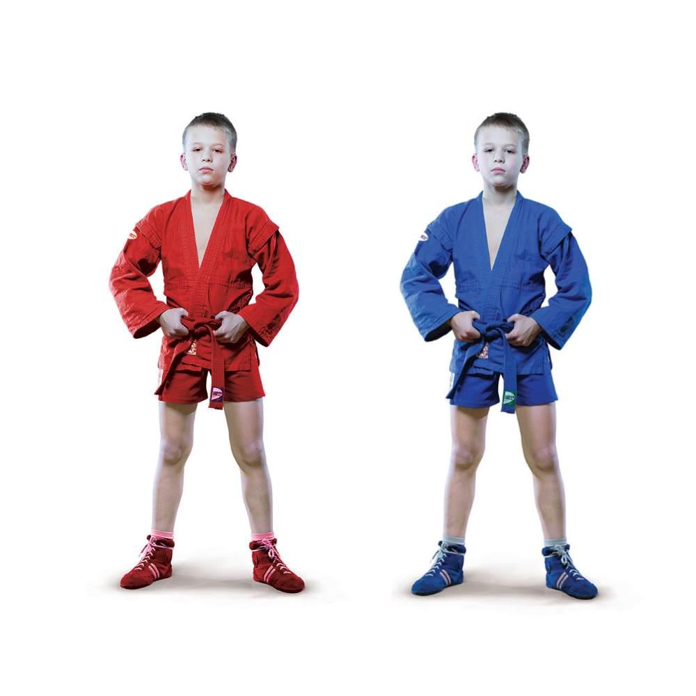 самбовка для самбо детская куртка Junior грин хилл