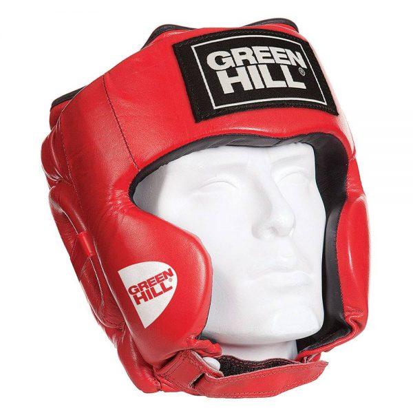 Шлем тренировочный с усиленной защитой CLUB - для бокса, ММА, кикбоксинга, самбо, натуральная кожа 1