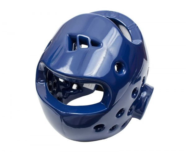 шлем тхэквондо втф адидас синий
