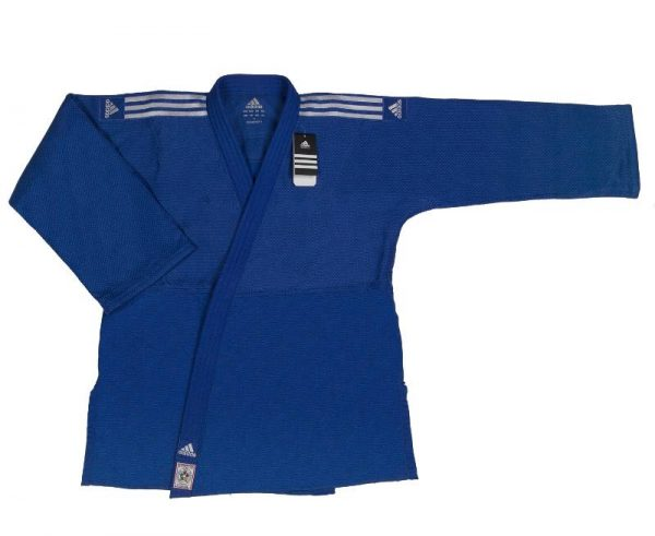 синее ijf кимоно