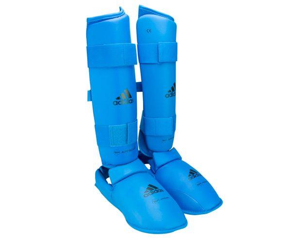 защита голени и стопы WKF Adidas
