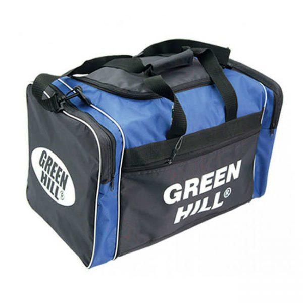 Спортивная сумка Green Hill мужская мультиспортивная, черно-синий, синтетика