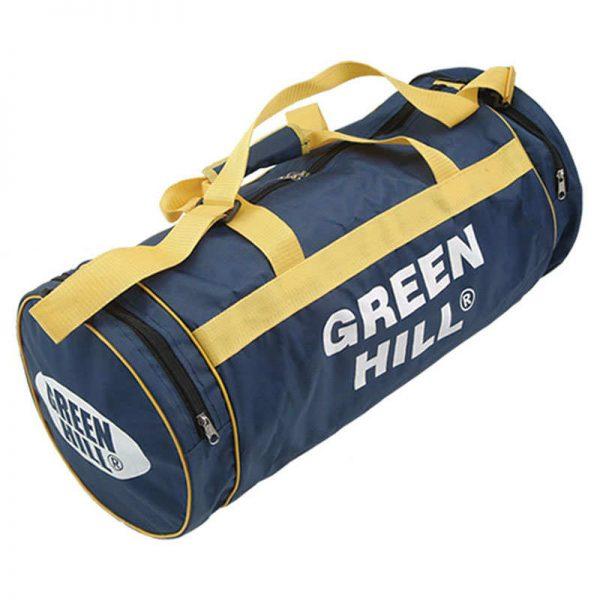 Спортивная сумка круглая Green Hill мужская мультиспортивная синий синтетика
