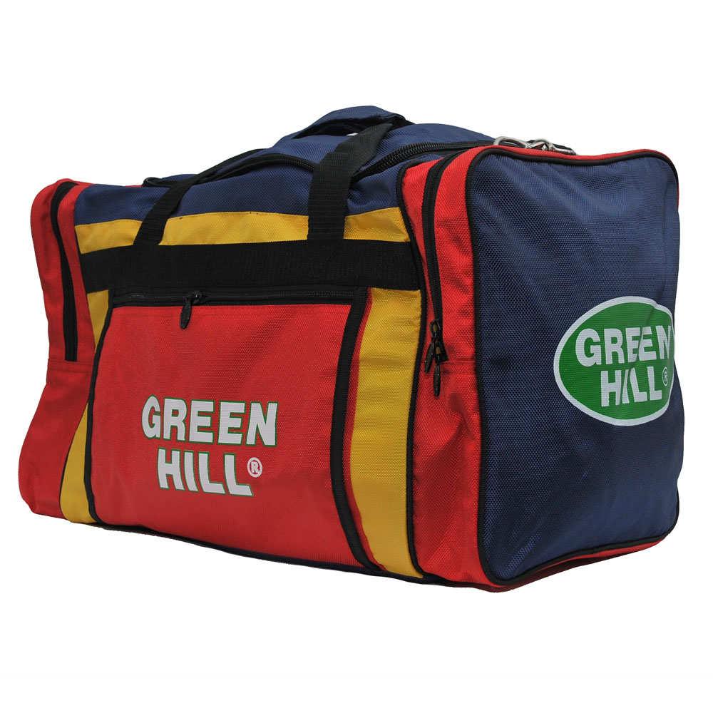 0c98aab3b817 Спортивная сумка Green Hill цвет красно-синий - купить в Москве, по ...