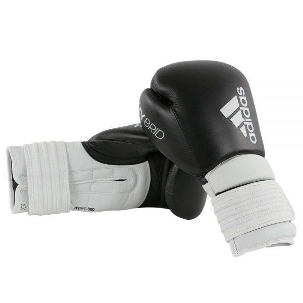 Тренировочные боксерские перчатки Adidas HYBRID 300 из натуральной кожи