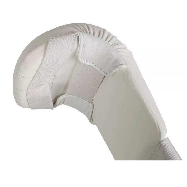 Накладки на руки для карате Adidas без большого пальца из искусственной кожи