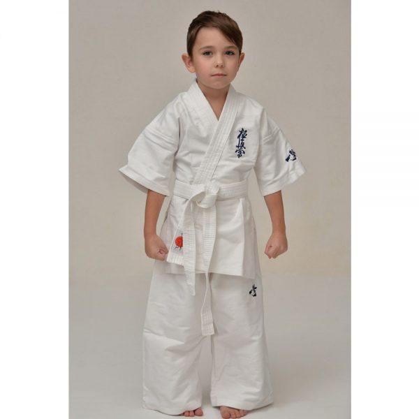Кимоно для карате киокушинкай взрослое, детское - все размеры 100% хлопок 280 г/м2 куртка, пояс, штаны