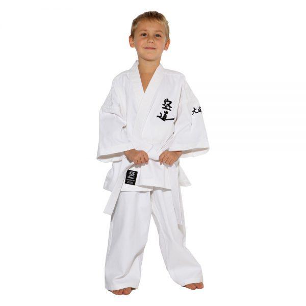 Детское кимоно для Кудо белое хлопок одобрено Федерацией кудо России