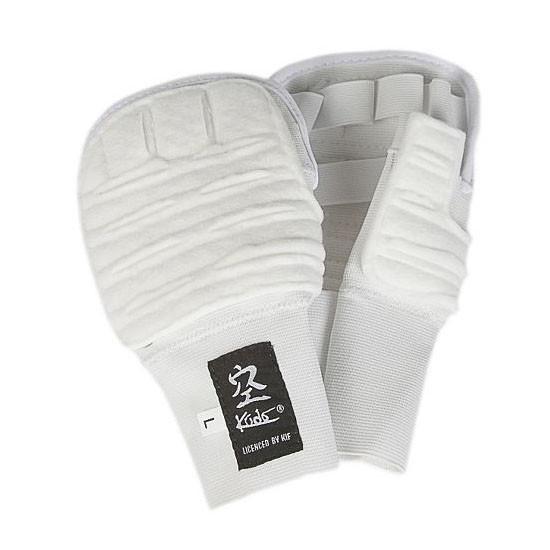 Накладки на руки для Кудо белые одобрено Федерацией кудо России