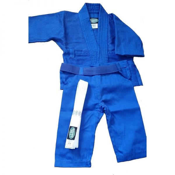 BJS-10374 кимоно для дзюдо для детей бэби грин хилл green hill