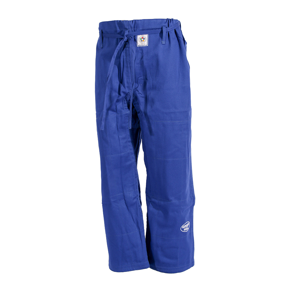 брюки для дзюдо синие
