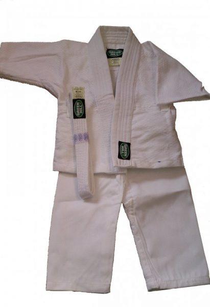кимоно для дзюдо для детей baby грин хилл BJS-10374
