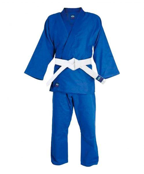 кимоно дзюдо МА 302 синее Green Hill