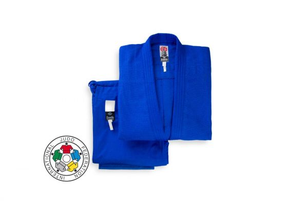 Кимоно для дзюдо Daedo IJF approved синее