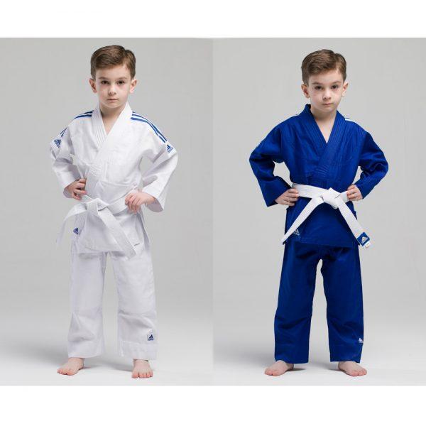 кимоно для дзюдо для детей адидас с поясом