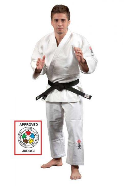 JU 2001 Форма для дзюдо (кимоно) IJF approved белое Daedo