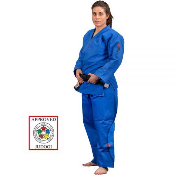 JU 2001 Форма для дзюдо (кимоно) IJF approved синее Daedo