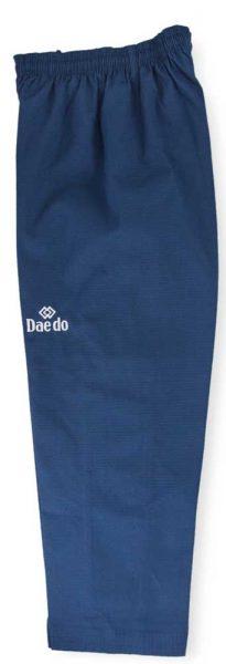TA3013 Форма для тхэквондо Poomsae Dan Female пхумсэ Дан женское бело-синий Daedo