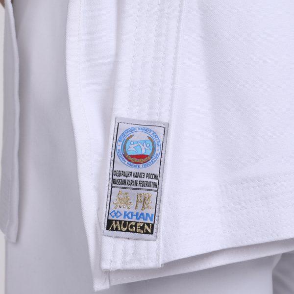 FKR5500 Кимоно для карате Kata Mugen KHAN ФКР 12 унций