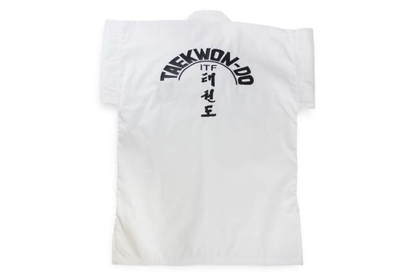 Кимоно тхэквондо ИТФ WHITE BELT CLUB KHAN