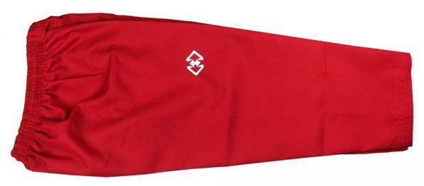 TUP002 Пхумсэ добок для девочек белый с красным POOMSAE POOM DOBOK FEMALE KHAN