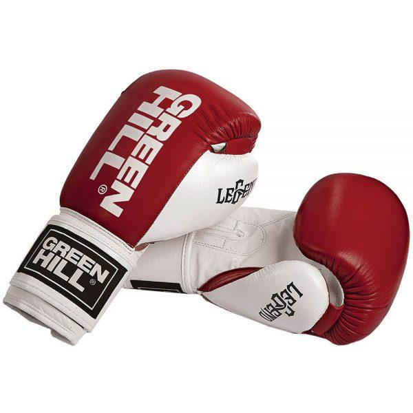 Перчатки боксерские Green Hill Legend, натуральная кожа