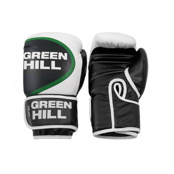 Перчатки боксерские Green Hill Winner, искусственная кожа
