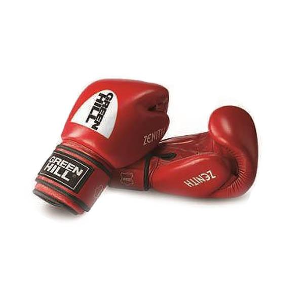 Перчатки боксерские Green Hill Zenith, натуральная кожа