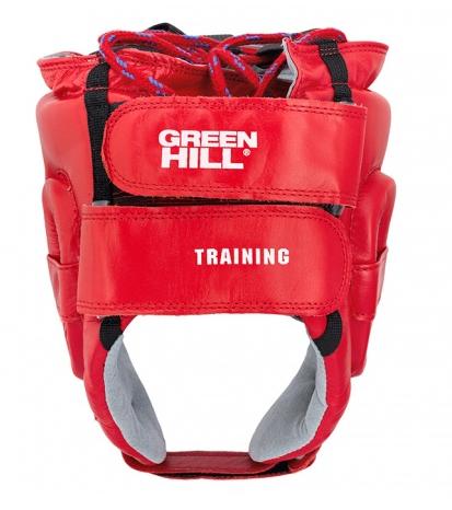 Шлем боксерский соревновательный Training Green Hill - красный / синий
