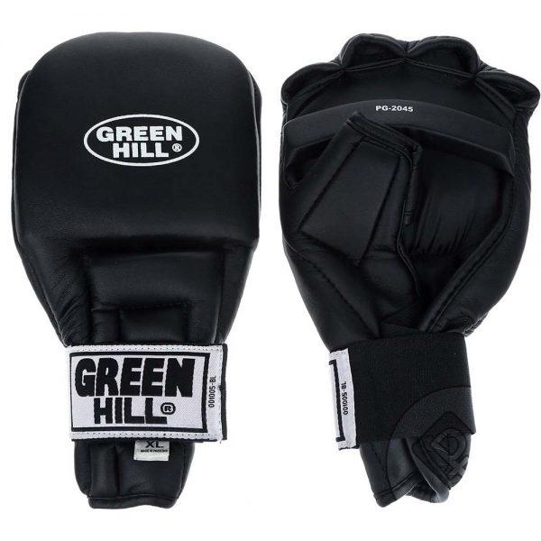Перчатки для рукопашного боя и кунгфу Green Hill красные