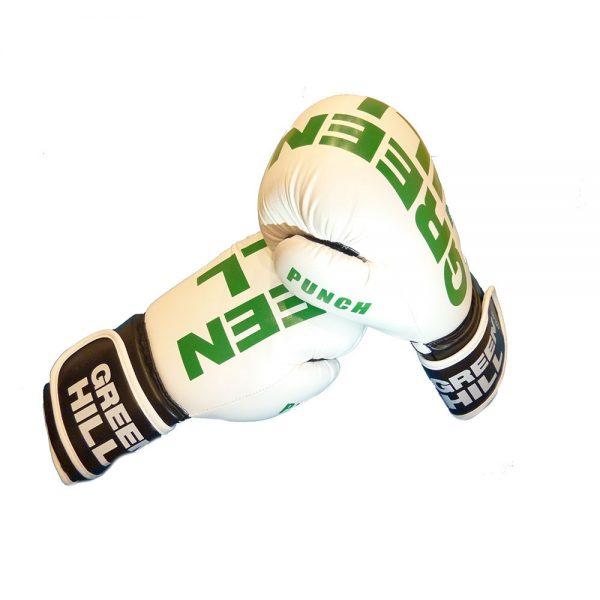 Перчатки боксерские Green Hill Punch, искусственная кожа