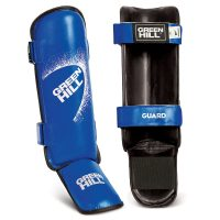 Защита голени и стопы Guard для карате и кикбоксинга Green Hill