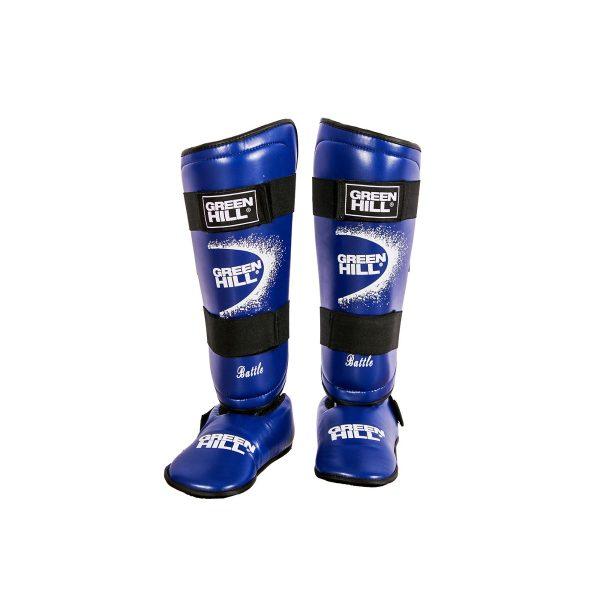 защита голени и стопы для рукопашного боя и единоборств